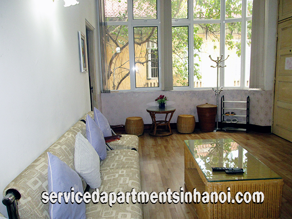 Cheap One Bedroom Apartment For Rent In Hoan Kiem District All Fee Included
