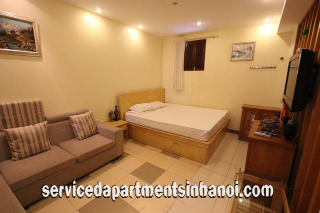 Cheap One Bedroom Apartment Rental In Nguyen Du Street Hai Ba Trung