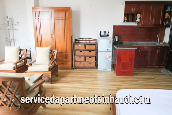 Cheap Studio Apartment For Rent in Nguyen Khac Hieu street