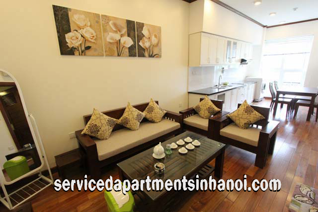 Lake View One Bedroom Apartment Rental In Truc Bach Area Ba Dinh